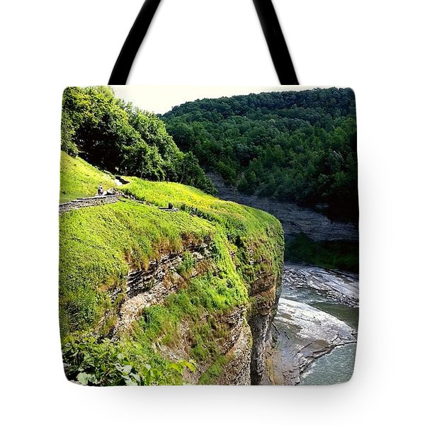 Tote Bag featuring the photograph Canyon  by Raymond Earley