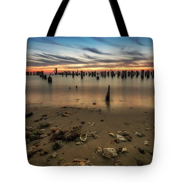 Tote Bag featuring the photograph Cape Charles by Kevin Blackburn
