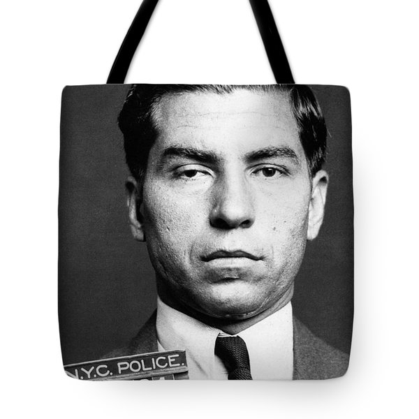 Charles Lucky Luciano Tote Bag by Granger