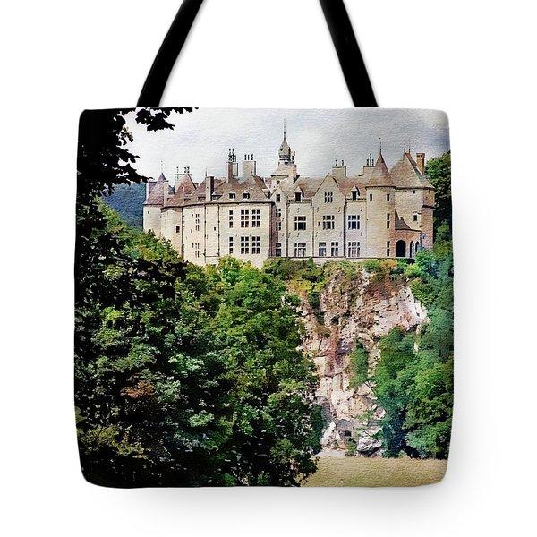 Tote Bag featuring the photograph Chateau De Walzin - Belgium by Joseph Hendrix