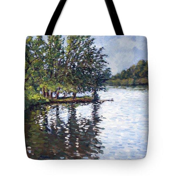 Cher-ful Lake Tote Bag