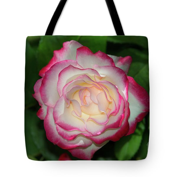 Cherry Parfait Rose Tote Bag by Glenn Franco Simmons