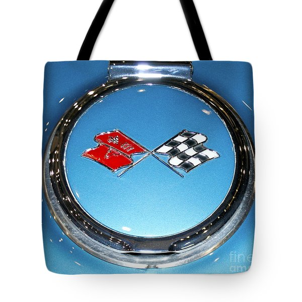 Chevy Corvette Tote Bag