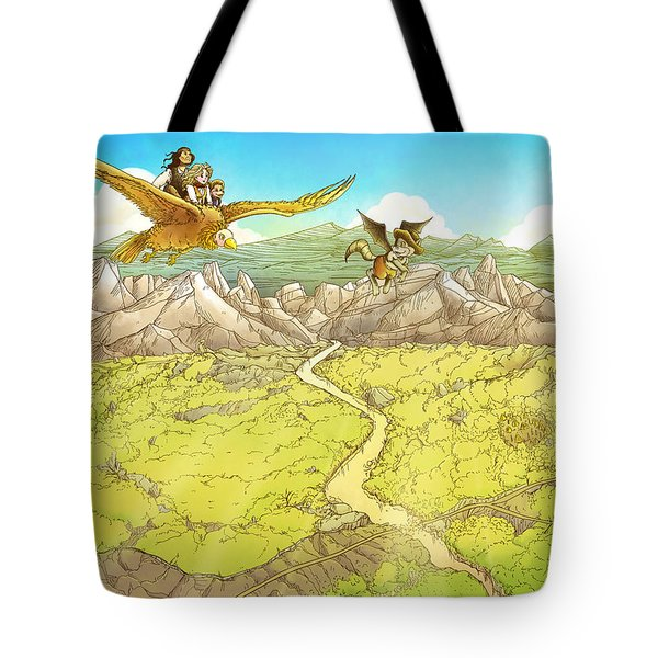 Chiricahua Mountains Tote Bag by Reynold Jay