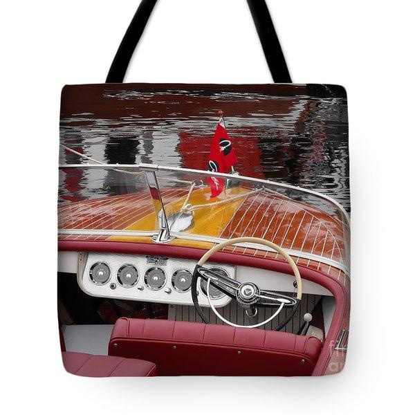 Chris Craft Tote Bag