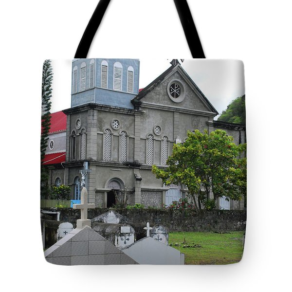 Tote Bag featuring the photograph Church by Gary Wonning