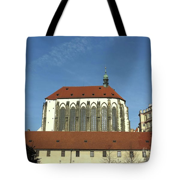 Tote Bag featuring the photograph Church Of The Virgin Mary Of The Snow by Michal Boubin