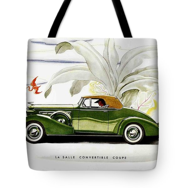 Classic Cars Tote Bag by Allen Beilschmidt