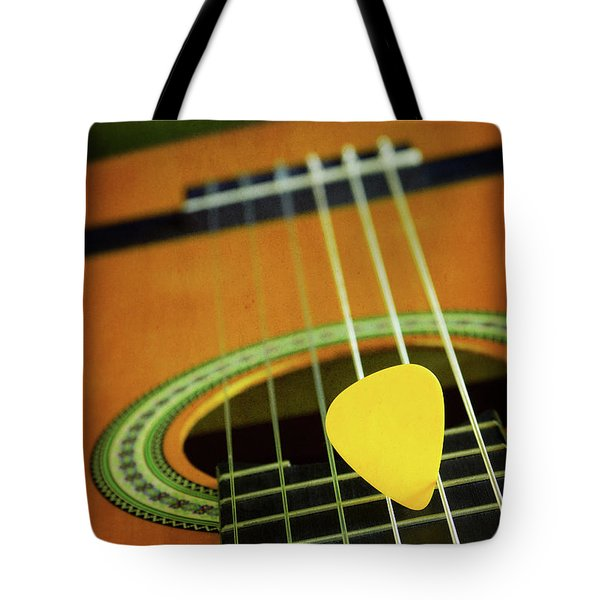 Tote Bag featuring the photograph Classic Guitar  by Carlos Caetano