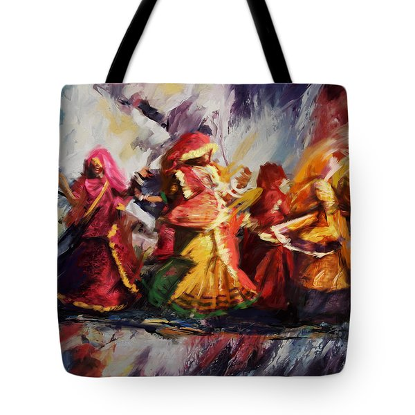 Classical Dance Art 16 Tote Bag