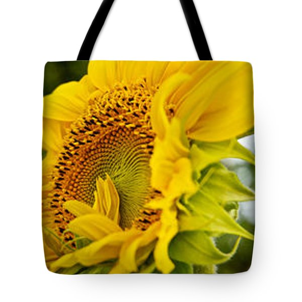 Close-up Of Sunflowers Tote Bag