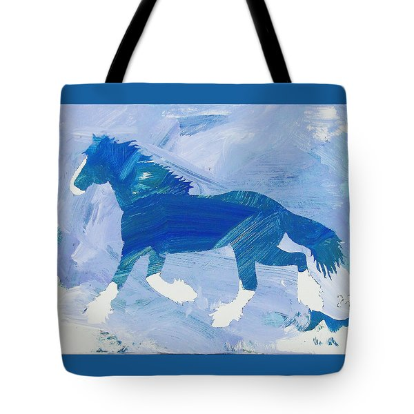 Clydesdale Dreams Tote Bag