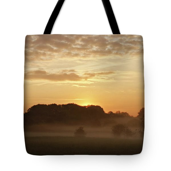 Tote Bag featuring the photograph Coagh Dawn by Colin Clarke