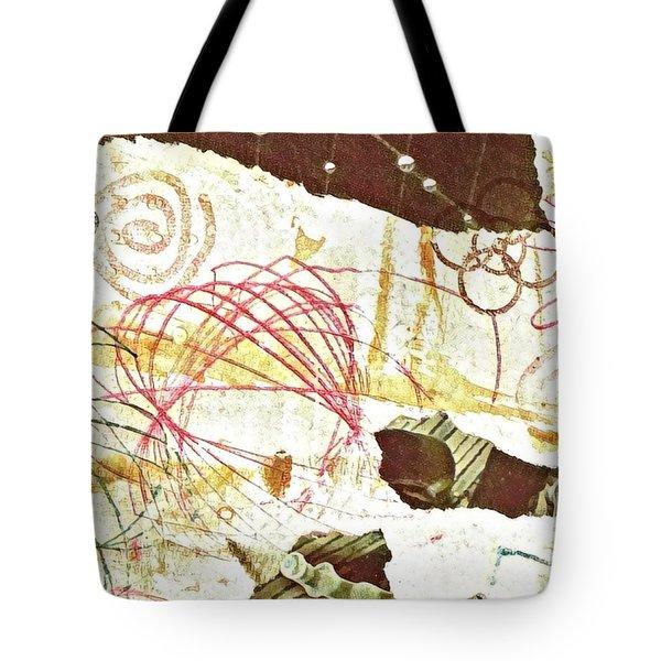Collage Details Tote Bag