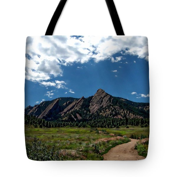 Colorado Landscape Tote Bag