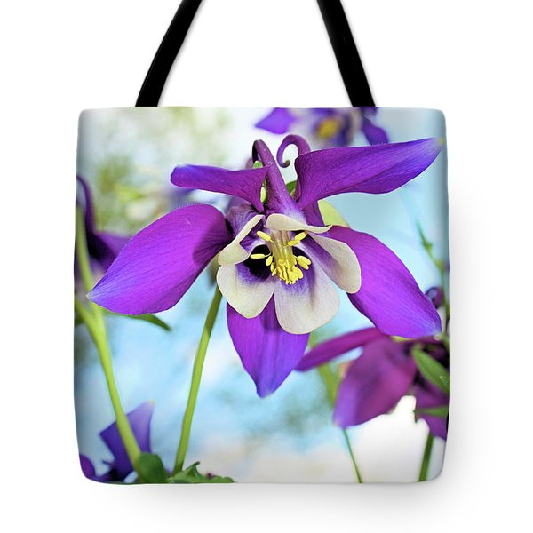 Tote Bag featuring the photograph Columbine by Kristin Elmquist