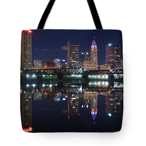 Columbus Ohio Tote Bag by Frozen in Time Fine Art Photography