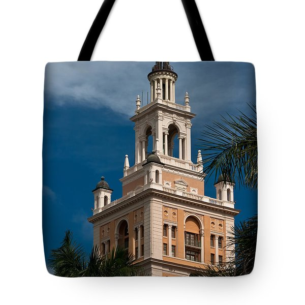 Coral Gables Biltmore Hotel Tower Tote Bag