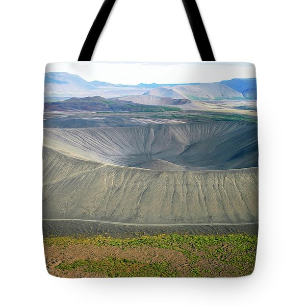 Crater Tote Bag by Patricia Hofmeester