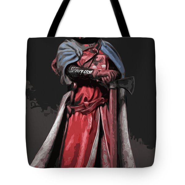 Crusader Warrior Tote Bag