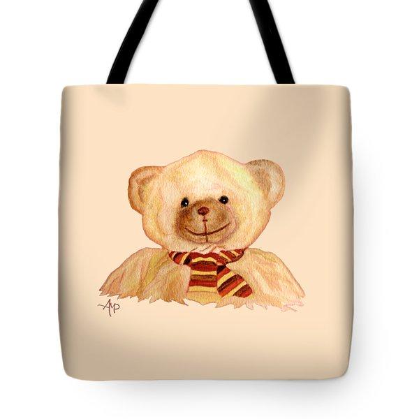 Cuddly Bear Tote Bag