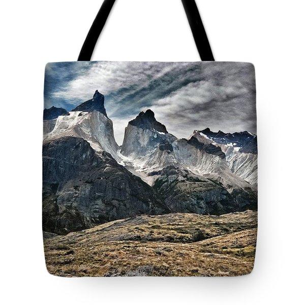 Cuernos Del Paine Tote Bag