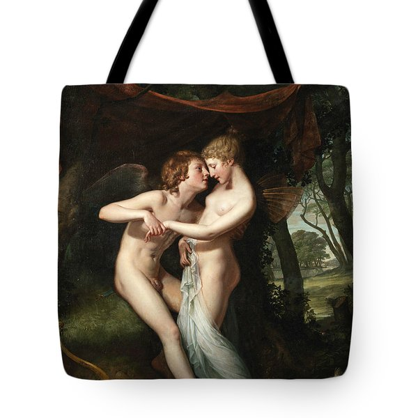 Cupid And Psyche In The Nuptial Bower Tote Bag