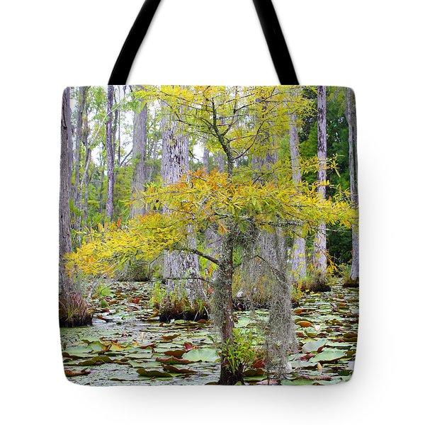 Cypress Gardens Tote Bag