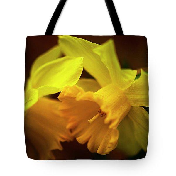 2 Daffodils Tote Bag