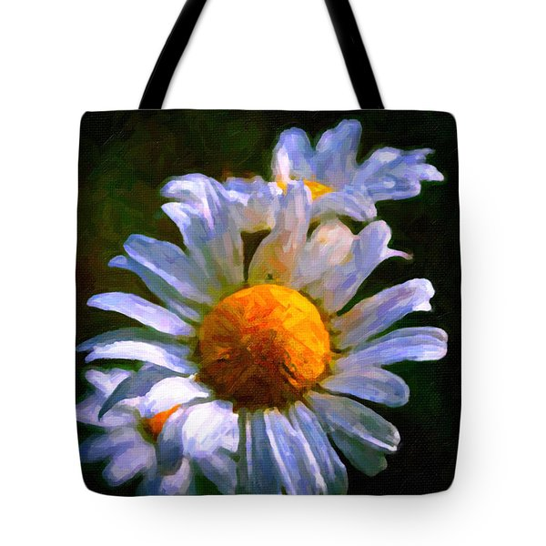 Daisy Tote Bag by Andre Faubert