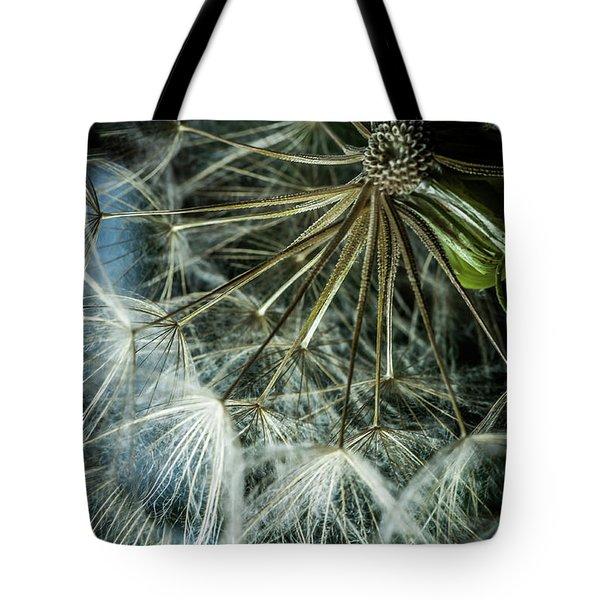 Dandelions Tote Bag by Iris Greenwell