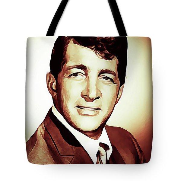 Dean Martin, Actor, Crooner Tote Bag