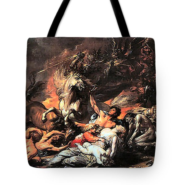 Death On A Pale Horse Tote Bag