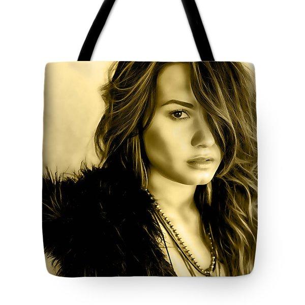 Demi Lovato Tote Bags | Fine Art America