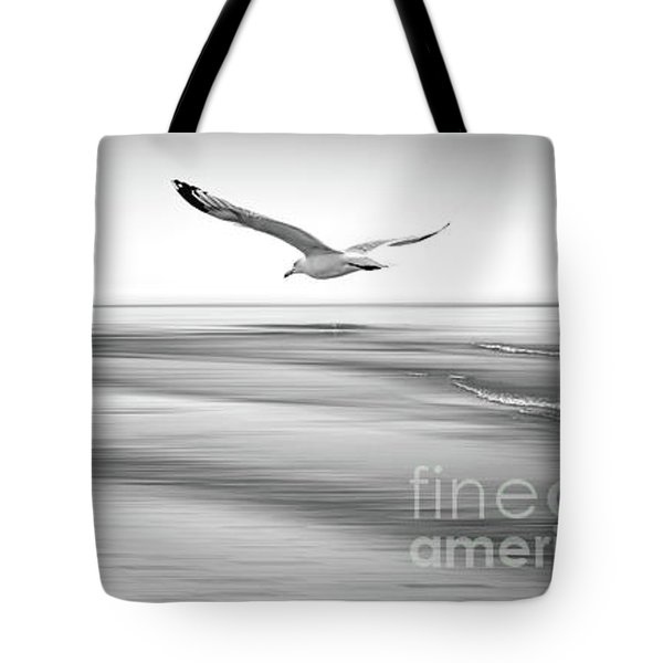Tote Bag featuring the photograph Desire Light Bw by Hannes Cmarits