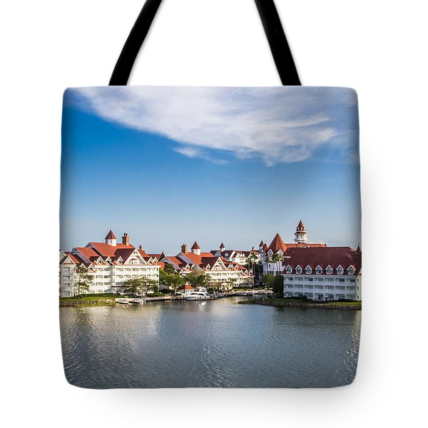 Disney's Grand Floridian Resort And Spa Tote Bag