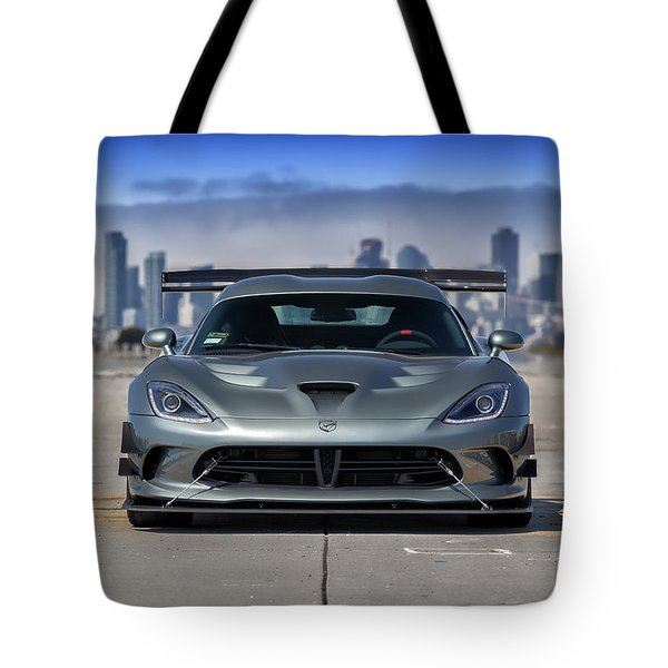 #dodge #acr #viper Tote Bag