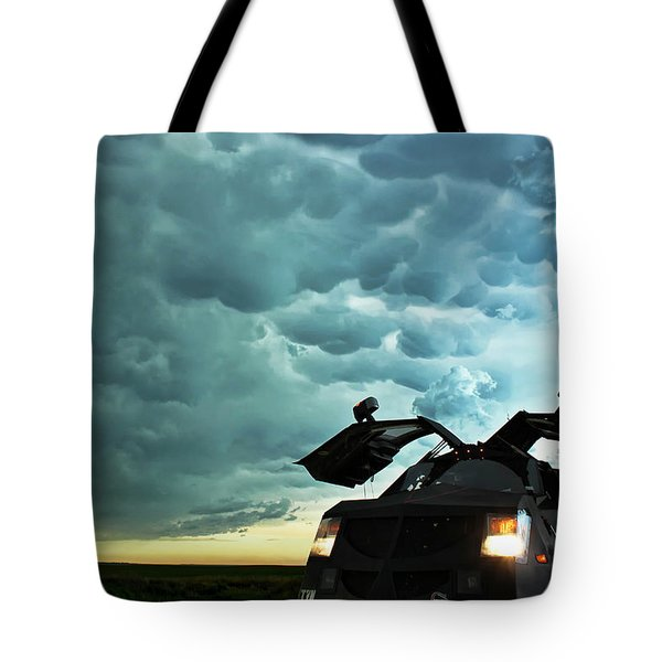 Dominating The Storm Tote Bag