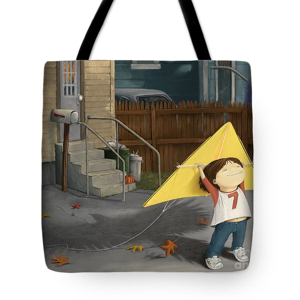 Don't Let Go Tote Bag