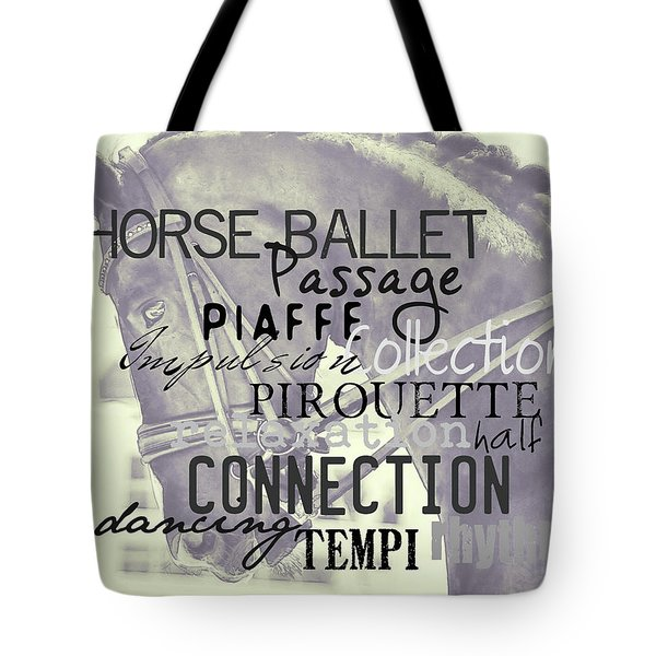 Double Bridle Quote Tote Bag