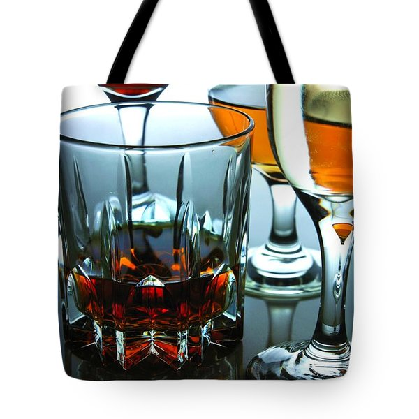 Drinks Tote Bag by Jun Pinzon