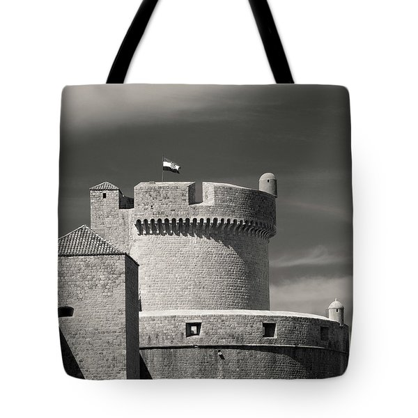Dubrovnik Ramparts Tote Bag