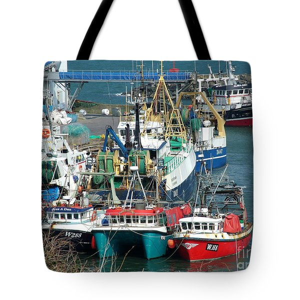 Dunmore East Harbour Tote Bag