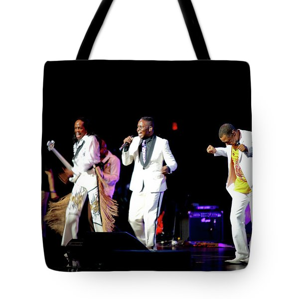 Earth Wind And Fire Tote Bag by April Sims