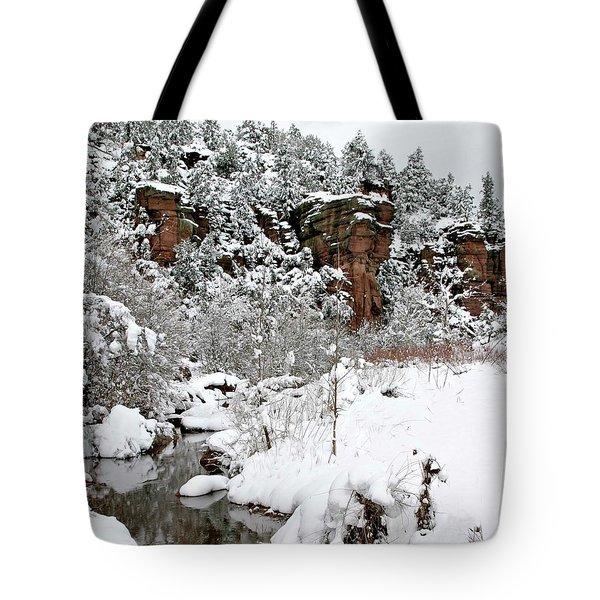 East Verde Winter Crossing Tote Bag