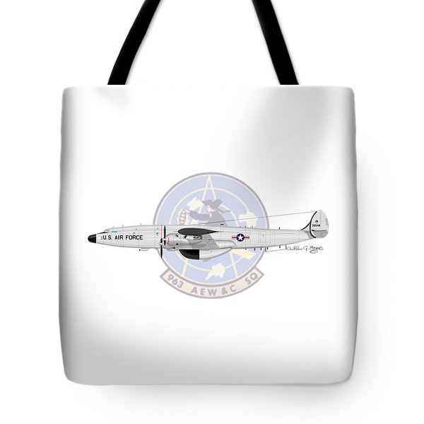 Ec-121t Constellation Tote Bag by Arthur Eggers