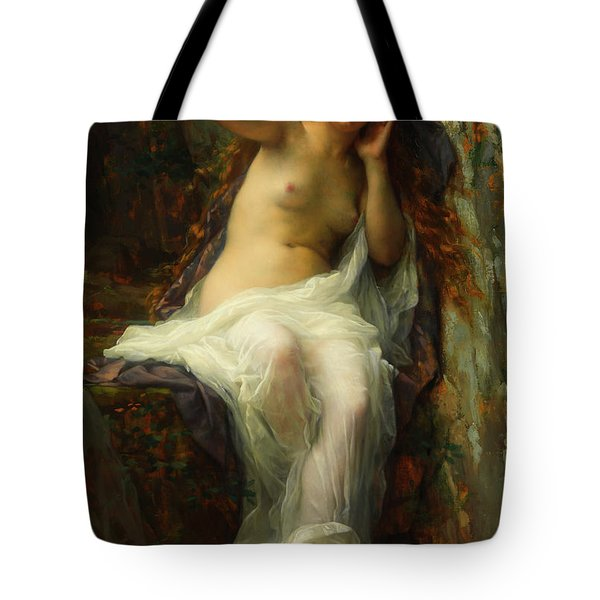Tote Bag featuring the painting Echo by Alexandre Cabanel