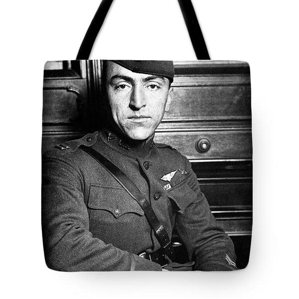 Eddie Rickenbacker Tote Bag