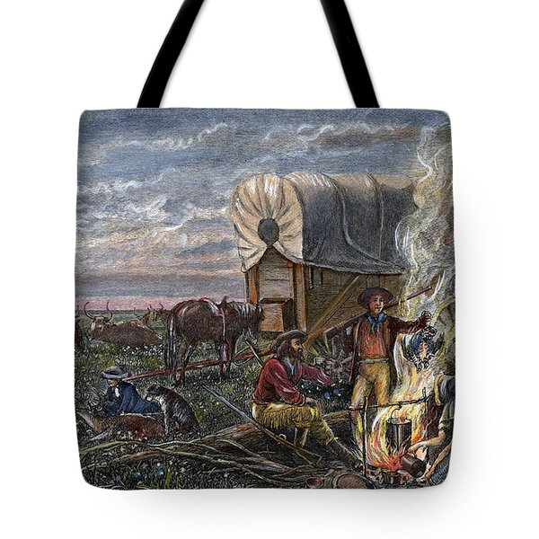 Emigrants To The West Tote Bag by Granger