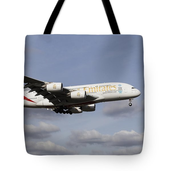 Emirates A380 Airbus Tote Bag